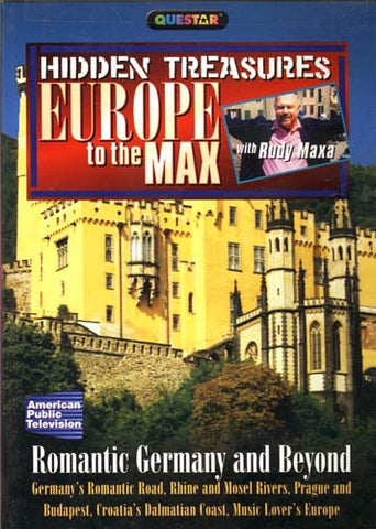 Hidden Treasures - Europe to the Max - Romantic Germany and Beyond DVD Movie