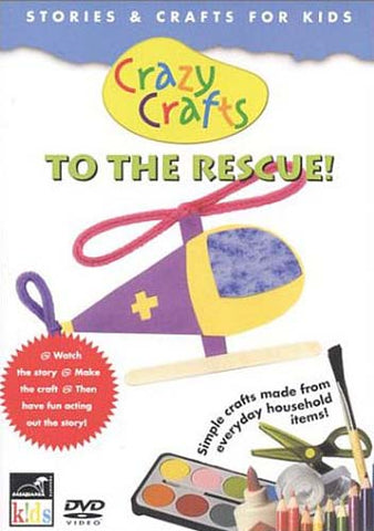 Crazy Crafts - To The Rescue DVD Movie