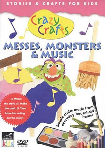 Crazy Crafts - Messes, Monsters and Music DVD Movie
