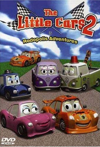 The Little Cars 2 - Rodopolis Adventures DVD Movie