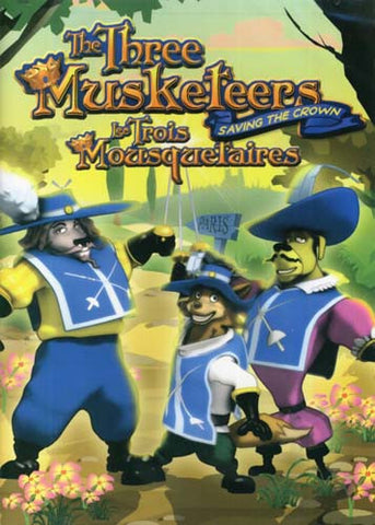 The Three Musketeers - Saving The Crown(Bilingual) DVD Movie