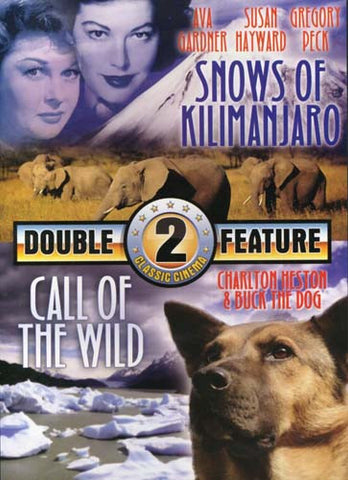 Snows of Kilimanjaro / Call of the Wild (Double Feature) DVD Movie