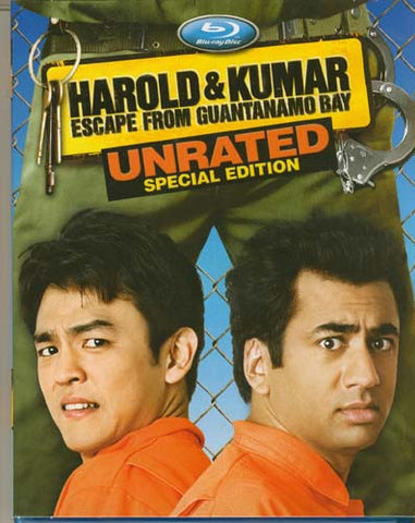 Harold And Kumar Escape From Guantanamo Bay (Unrated Special Edition) (Blu-ray) BLU-RAY Movie