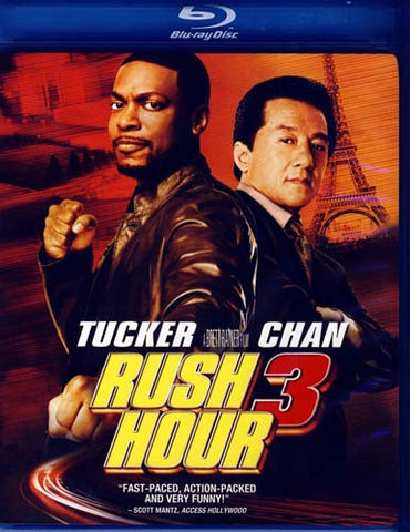 Rush Hour 3 (Blu-ray) BLU-RAY Movie