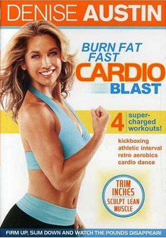 Denise Austin - Burn Fat Fast - Cardio Blast (MAPLE) DVD Movie