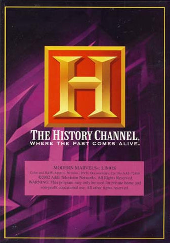 Modern Marvels - Limos - The History Channel DVD Movie