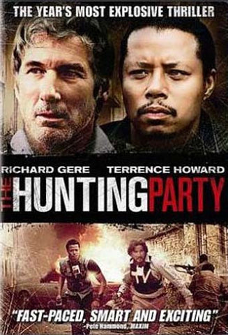 The Hunting Party (Richard Gere) (Bilingual) DVD Movie