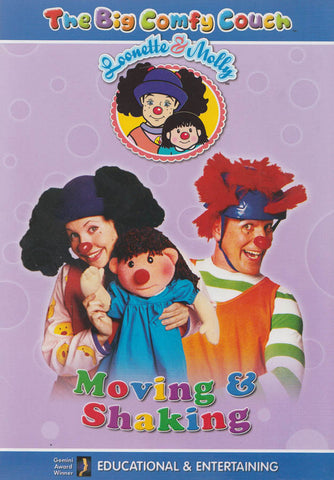 The Big Comfy Couch - Moving and Shaking DVD Movie