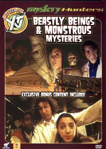Mystery Hunters - Beastly Being and Monstrous Mysteries DVD Movie