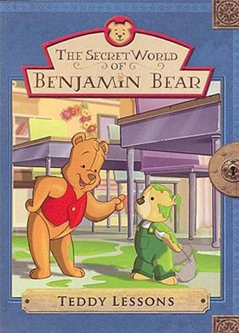 The Secret World of Benjamin Bear - Teddy Lessons DVD Movie