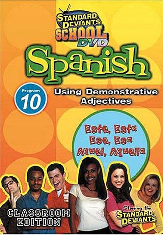 Standard Deviants School - Spanish - Program 10 - Using Demonstrative Adjectives DVD Movie