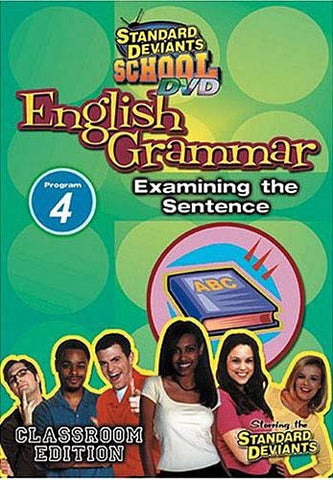Standard Deviants School - English Grammar - Program 4 - Examining the Sentence DVD Movie