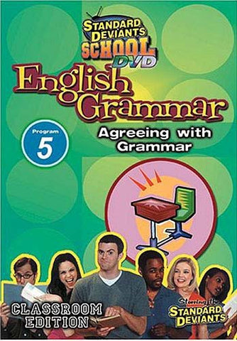 Standard Deviants School - English Grammar - Program 5 - Agreeing with Grammar DVD Movie