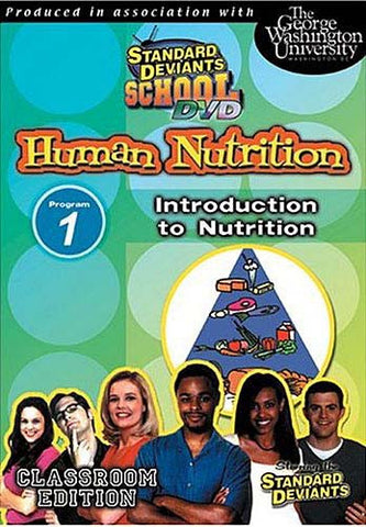 Standard Deviants School - Human Nutrition - Program 1 - Introduction to Nutrition DVD Movie
