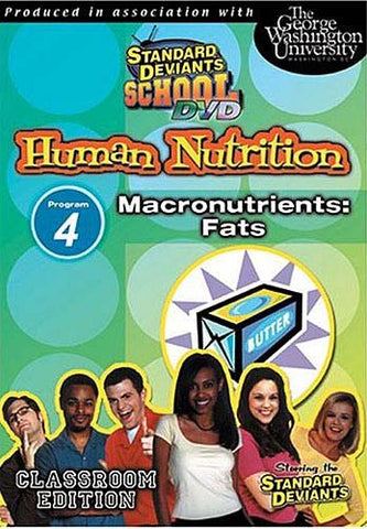 Standard Deviants School - Human Nutrition - Program 4 - Macronutrients Fats DVD Movie