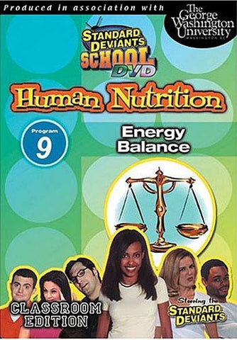 Standard Deviants School - Human Nutrition - Program 9 - Energy Balance DVD Movie