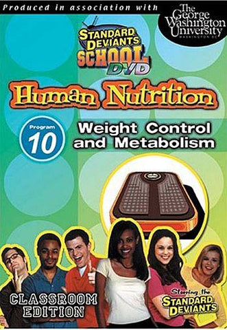 Standard Deviants School - Human Nutrition - Program 10 - Weight Control and Metabolism DVD Movie