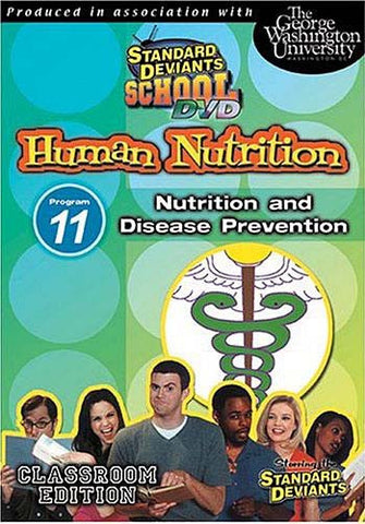 Standard Deviants School - Human Nutrition - Program 11 - Nutrition and Disease Prevention DVD Movie