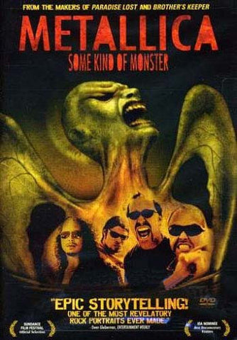 Metallica - Some Kind of Monster DVD Movie