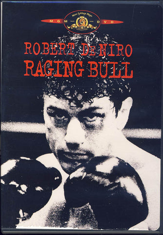 Raging Bull (Black Cover)(MGM) DVD Movie