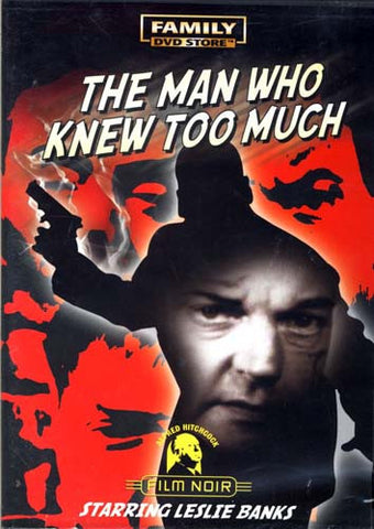 The Man Who Knew Too Much DVD Movie
