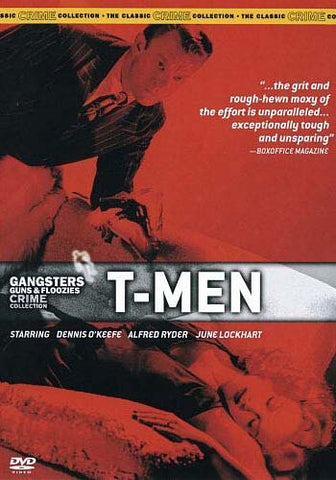 Gangsters Guns And Floozies Crime Collection: T-Men DVD Movie