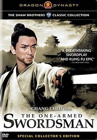 The One - Armed Swordsman (Special Collector's Edition) (Dragon Dynasty) DVD Movie