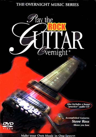 Play the Rock Guitar Overnight (With Bonus Practice CD) DVD Movie
