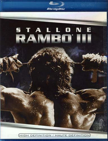 Rambo III (3) (Blu-ray) (Maple) BLU-RAY Movie