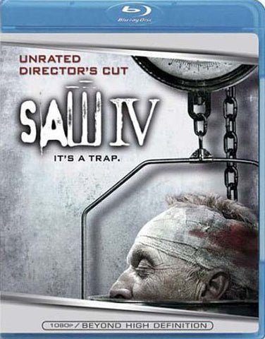 Saw IV (Unrated Director s Cut) (Blu-ray) BLU-RAY Movie