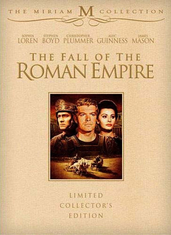 The Fall Of The Roman Empire (3-Disc Limited Collector's Edition) (The Miriam Collection) (Boxset) DVD Movie
