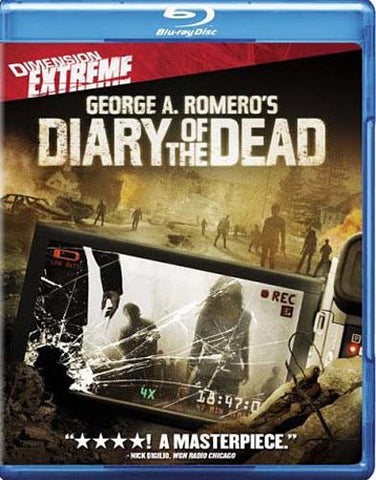 Diary of the Dead (Blu-ray) BLU-RAY Movie