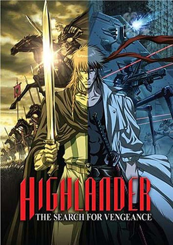 Highlander - The Search for Vengeance (Animated) DVD Movie