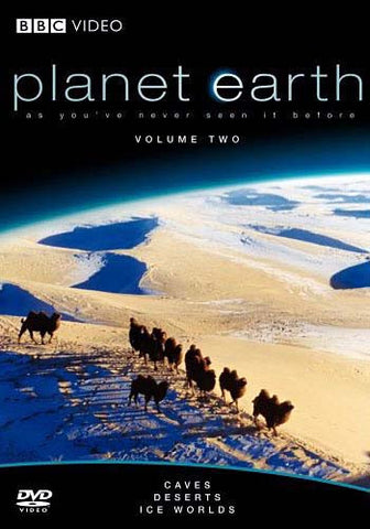 Planet earth - Caves, Deserts, Ice Worlds - Volume Two DVD Movie