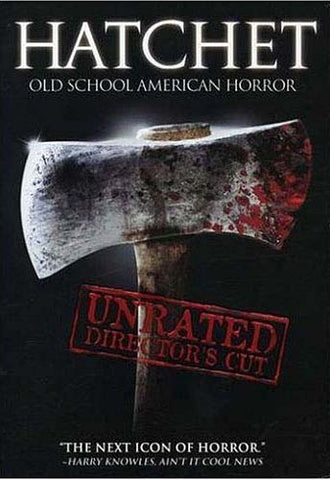 Hatchet (Unrated Director's Cut) DVD Movie