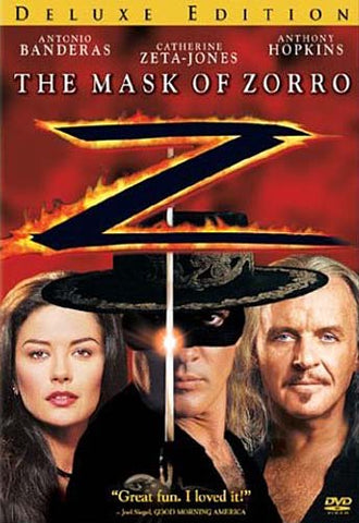 The Mask of Zorro (Deluxe Edition) (yellow) DVD Movie