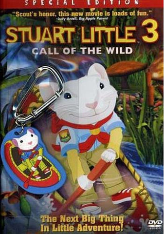 Stuart Little 3 - Call of the Wild (With KeyChain) DVD Movie