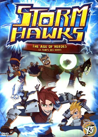 Storm Hawks(The Age of Heroes) (Bilingual) DVD Movie