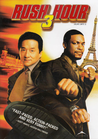 Rush Hour 3 (Widescreen and Full-Screen) (Bilingual) DVD Movie