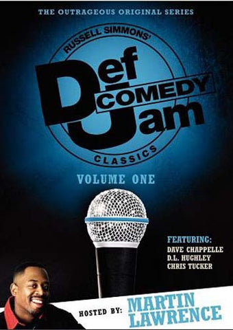 Def Comedy Jam Classics - Martin Lawrence - Vol.1 (Blue Cover) DVD Movie
