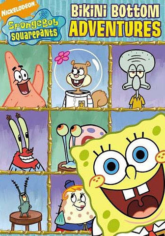 SpongeBob SquarePants - Bikini Bottom Adventures DVD Movie