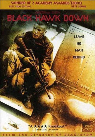 Black Hawk Down DVD Movie