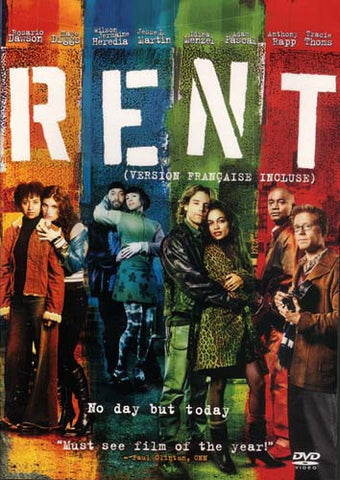 Rent (2005) DVD Movie