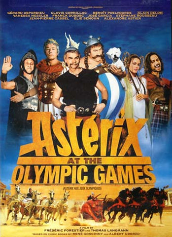 Asterix At The Olympic Games (Bilingual) DVD Movie