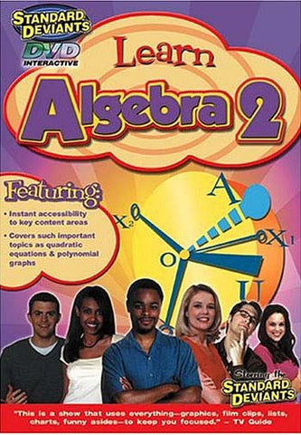 Standard Deviants - Learn Algebra 2 DVD Movie