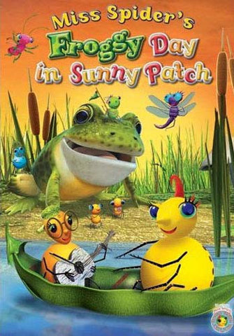 Miss Spider s Froggy Day in Sunny Patch DVD Movie