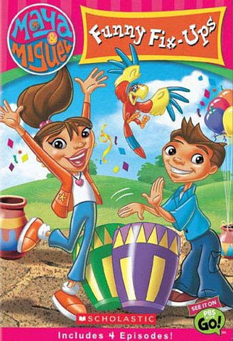 Maya and Miguel - Funny Fix Ups DVD Movie