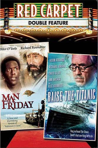 Man Friday/Raise the Titanic (Red Carpet Double Feature) DVD Movie