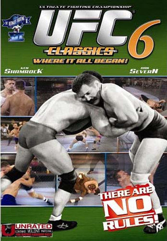 Ultimate Fighting Championship Classics - Vol. 6 DVD Movie
