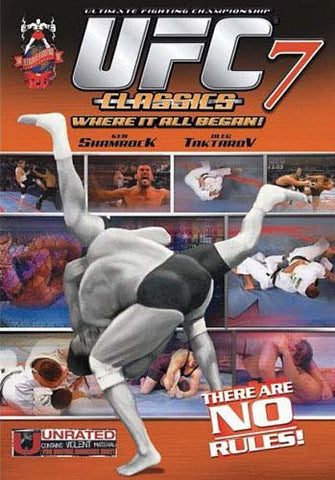 Ultimate Fighting Championship Classics - Vol. 7 DVD Movie